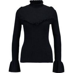 Swetry klasyczne damskie: Soaked in Luxury LAMIJE Sweter midnight blue/black