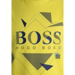 BOSS Kidswear KURZARM GRAFISCH Tshirt z nadrukiem gelb. Żółte t-shirty chłopięce z nadrukiem BOSS Kidswear, z bawełny. Za 189,00 zł.