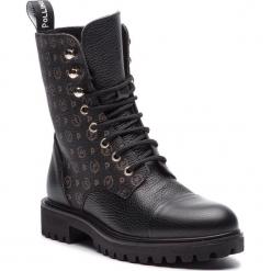 Trapery POLLINI - TA21023G06Q1100A Tapiro/Vit.Bott.Nero. Czarne buty zimowe damskie Pollini, ze skóry ekologicznej. Za 1009,00 zł.