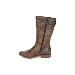 Kozaki Mustang  UGORA. Brązowe buty zimowe damskie marki Mustang. Za 319,20 zł.
