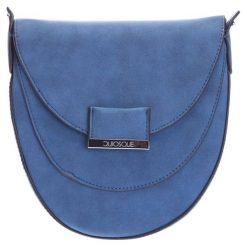 Listonoszki damskie: Niebieska torebka listonoszka QUIOSQUE