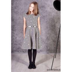 Sukienka Gabi. Czarne sukienki dziewczęce marki La Redoute Collections, z bawełny, klasyczne. Za 169,00 zł.