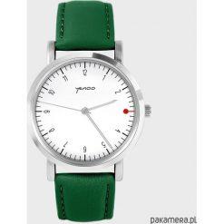Zegarek - Simple, biały - zielony, skórzany. Białe zegarki damskie Pakamera. Za 139,00 zł.