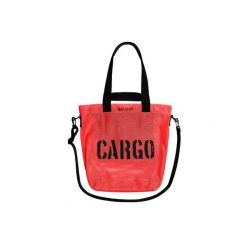 Torba MESH MEDIUM - kolory. Czerwone shopper bag damskie CARGO by OWEE, z meshu, przez ramię, średnie. Za 299,00 zł.