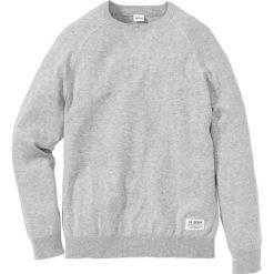 Swetry klasyczne męskie: Sweter Regular Fit bonprix jasnoszary melanż