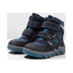 Lurchi SASCHASYMPATEX Śniegowce atlantic. Czarne buty zimowe chłopięce marki Lurchi, z materiału. W wyprzedaży za 169,50 zł.