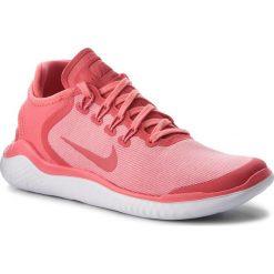 Buty NIKE - Free Rn 2018 Sun AH5208 800 Sea Coral/Tropical Pink. Czerwone buty do biegania damskie Nike, z materiału. W wyprzedaży za 329,00 zł.
