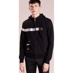 Swetry męskie: Plein Sport HOODIE POTENCY Bluza rozpinana black