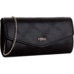 Torebka NOBO - NBAG-C3751-C020 Czarny. Czarne torebki klasyczne damskie marki Nobo, z materiału. W wyprzedaży za 99,00 zł.