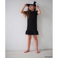 Sukienki dziewczęce z falbanami: Tunika bawełniana dziewczynka