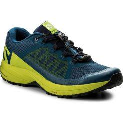 Buty SALOMON - Xa Elevate 400064 29 V0 Poseidon/Lime Green/Black. Niebieskie buty do biegania męskie marki Salomon, z materiału. W wyprzedaży za 349,00 zł.