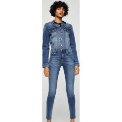 Spodnie z wysokim stanem: Mango - Jeansy Uptown2