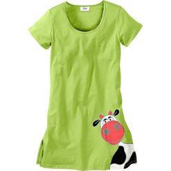 Koszule nocne i halki: Koszula nocna bonprix zielone jabłuszko