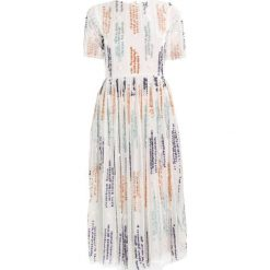 Sukienki hiszpanki: Lace & Beads CRICHET MIDI Sukienka koktajlowa white