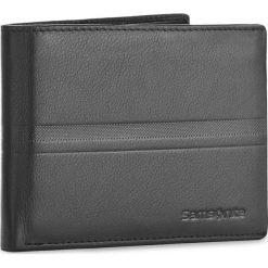 Duży Portfel Męski SAMSONITE - 001-015A0-0290-01 Black. Czarne portfele męskie marki Samsonite, ze skóry. Za 149,00 zł.
