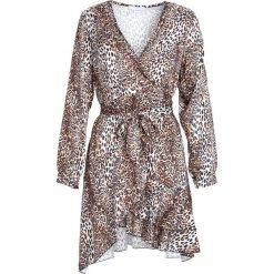 Beżowa Sukienka Natural Phenomenon. Brązowe sukienki mini marki Born2be, uniwersalny. Za 109,99 zł.