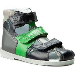 Sandały BARTEK - 86792-8/C40 Niebiesko Zielony. Niebieskie sandały męskie skórzane Bartek. W wyprzedaży za 179,00 zł.