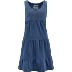 Sukienki hiszpanki: Sukienka bonprix niebieski indygo
