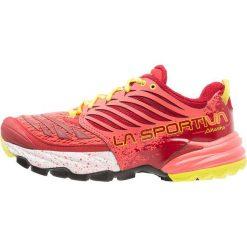 La Sportiva AKASHA WOMAN Obuwie do biegania Szlak berry. Czerwone buty do biegania damskie La Sportiva, z gumy. Za 629,00 zł.