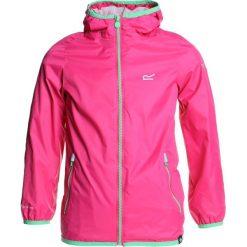 Regatta LEVER II Kurtka przeciwdeszczowa hot pink. Czerwone kurtki dziewczęce przeciwdeszczowe marki Regatta, z materiału. Za 129,00 zł.