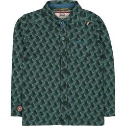 """Koszula """"Lost On You"""" w kolorze zielonym. Zielone koszule chłopięce marki 4FunkyFlavours Kids, z klasycznym kołnierzykiem. W wyprzedaży za 102,95 zł."""