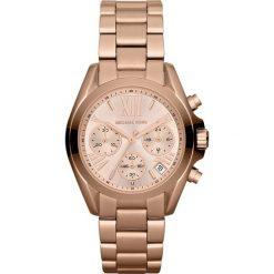Zegarek MICHAEL KORS - Mini Bradshaw MK5799 Rose Gold/Rose Gold. Czerwone zegarki damskie Michael Kors. Za 1290,00 zł.