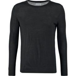 Swetry klasyczne męskie: Samsøe & Samsøe LOKE Sweter black