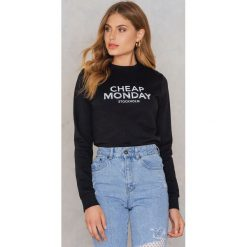 Bluzy damskie: Cheap Monday Bluza Win Doodle Logo - Black