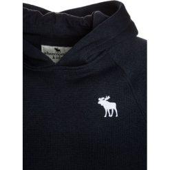 Abercrombie & Fitch RAGLAN Bluza z kapturem navy. Niebieskie bluzy chłopięce rozpinane Abercrombie & Fitch, z bawełny, z kapturem. Za 189,00 zł.