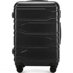 Walizka średnia 56-3P-982-10. Czarne walizki marki Wittchen, z gumy, średnie. Za 279,00 zł.