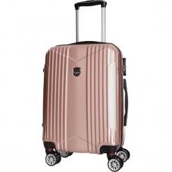 Walizka w kolorze jasnoróżowym - 101 l. Czerwone walizki Bagstone & Travel One, z materiału. W wyprzedaży za 279,95 zł.