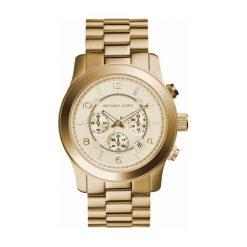 Zegarek damski Michael Kors Runway Chronograph MK8077. Szare zegarki damskie Michael Kors. Za 973,00 zł.