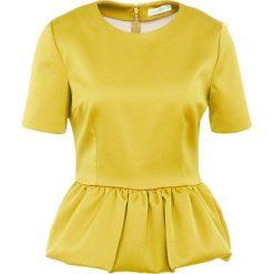 Stine Goya LARA Bluzka arrowwood. Żółte bluzki asymetryczne Stine Goya, xl, z elastanu. W wyprzedaży za 395,55 zł.