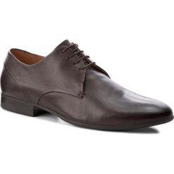 Półbuty GINO ROSSI - Porfirio MPC759-503-KB00-3700-0 92. Brązowe buty wizytowe męskie Gino Rossi, z materiału. W wyprzedaży za 199,00 zł.