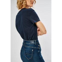 Pepe Jeans - Spódnica Taylor. Szare spódniczki jeansowe Pepe Jeans, l, midi. W wyprzedaży za 259,90 zł.