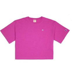 Topy damskie: CHAMPION Champion Crewneck T-Shirt Crop Top Purple m