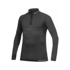 Bejsbolówki męskie: Craft Bluza męska Warm CK Wool Polo czarna r. M (1901649-9980)