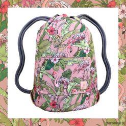 PINK FLAMINGO dwustronny plecak SACK IT!. Różowe plecaki męskie Pakamera. Za 165,00 zł.