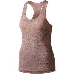 Bluzki damskie: Adidas Koszulka damska Jacquad Tank różowa r. S (BQ5865)