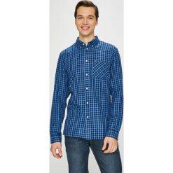 Tommy Jeans - Koszula. Niebieskie koszule męskie jeansowe Tommy Jeans, l, button down, z długim rękawem. Za 299,90 zł.