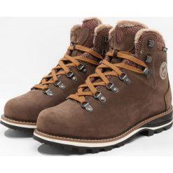 Lowa WENDELSTEIN WARM GTX  Śniegowce braun. Brązowe buty zimowe damskie Lowa, z materiału. Za 1079,00 zł.