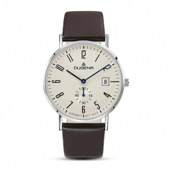 """Zegarek """"4460664"""" w kolorze brązowo-srebrnym. Brązowe, analogowe zegarki męskie Dugena & Nautec No Limit, srebrne. W wyprzedaży za 439,95 zł."""