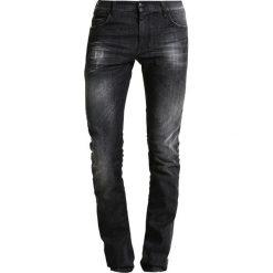 Sisley Jeansy Slim Fit grey. Szare jeansy męskie relaxed fit Sisley, z bawełny. W wyprzedaży za 239,25 zł.
