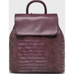 Answear - Plecak. Brązowe plecaki damskie ANSWEAR, z materiału. W wyprzedaży za 89,90 zł.