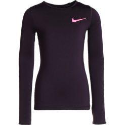 Nike Performance Koszulka sportowa port wine/racer pink. Czerwone bluzki dziewczęce Nike Performance, z elastanu. W wyprzedaży za 127,20 zł.