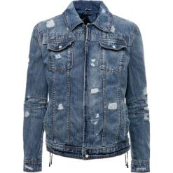 Be Edgy RAVE Kurtka jeansowa indigo. Niebieskie kurtki męskie jeansowe marki Reserved, l. Za 509,00 zł.