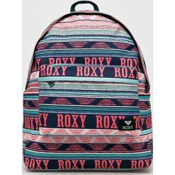 Roxy - Plecak. Szare plecaki damskie marki Roxy, z materiału. Za 169,90 zł.