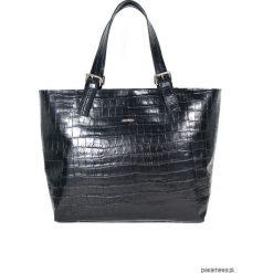 Shopper bag damskie: Shopper XXL Blackissimo Crocodile