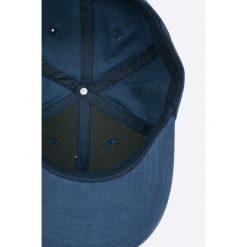 S. Oliver - Czapka. Czarne czapki z daszkiem męskie S.Oliver, z bawełny. W wyprzedaży za 49,90 zł.