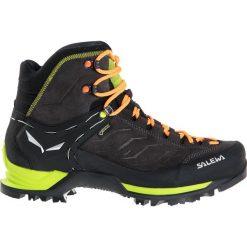Buty trekkingowe męskie: Salewa Buty męskie MS MTN TRAINER MID GTX Black/Sulphur Spring r.41